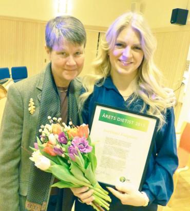 Elisabet Rothenberg & Josephine Garpsäter vid årsmötet 13 mars 2016 i Uppsala